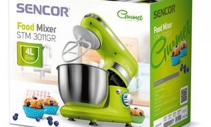 SENCOR Robot kuchenny STM3011GR,450 W, poj.misa 4L,3 nasadki,6 predkosci
