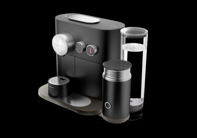 Krups Nespresso EXPERT XN6018 z boku