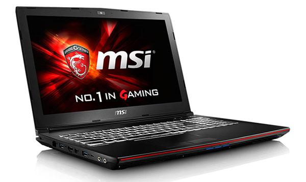 MSI GP62 2QE-226XPL 15,6 Core i7