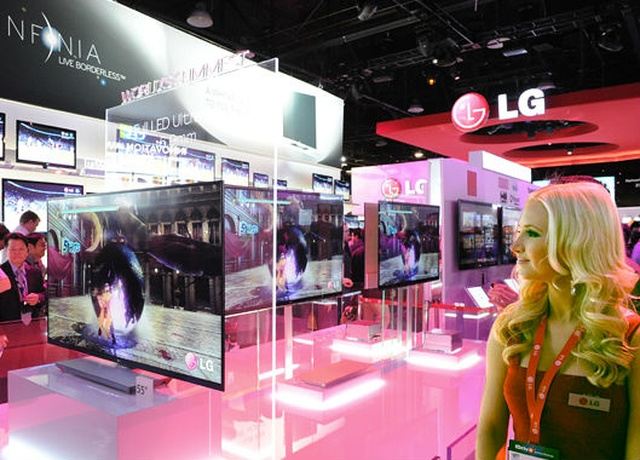 Premiery LG Electronics Targi CES 2012