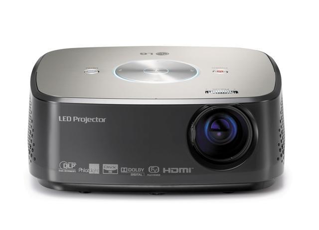 LG HX300G - unboxing mini projektora