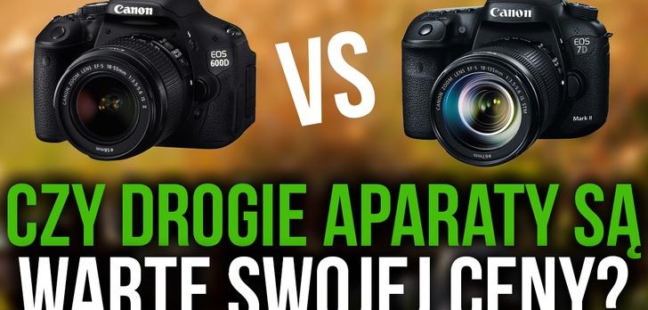 Canon 600D vs 7D Mk II – Czy Drogie Aparaty są Warte Swojej Ceny?