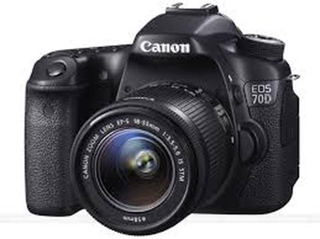 Canon EOS 70D - nowy aparat fotograficzny od Canona
