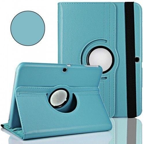"WEL.COM Etui obrotowe Samsung Galaxy Tab 4 10.1"" błękitne"