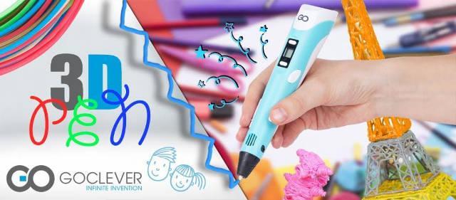Goclever Długopis 3D