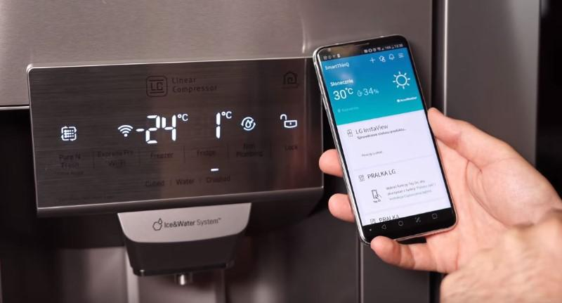 LG GSX961NSAZ i system Smart Thinq w Smartfonie