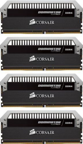 Corsair Dominator Platinum DDR4, 4x16GB, 2666MHz, CL15 (CMD64GX4M4A2666C15)