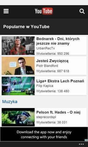 Windows Phone 8 youtube