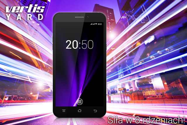 Oto Vertis Yard - nowy i potężny smartfon