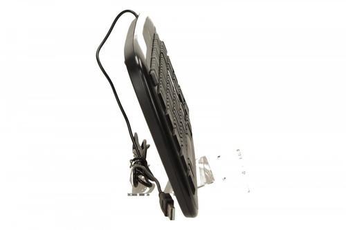 Genius Klawiatura SlimStar 110 Black, USB, mid-low profile, wodoodporna