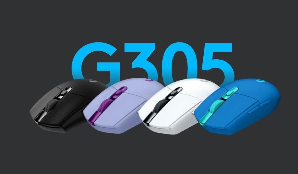 Cztery kolory  Logitech G305