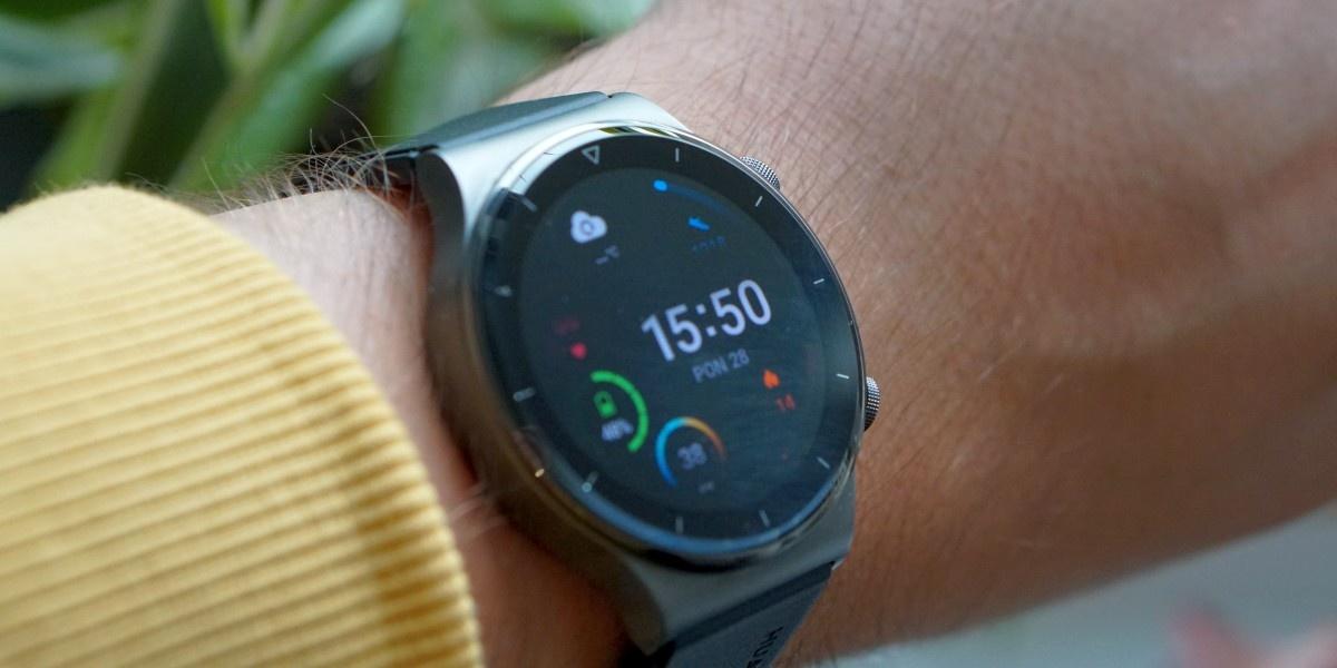 Tarczy w Huawei Watch GT 2 Pro nie brakuje