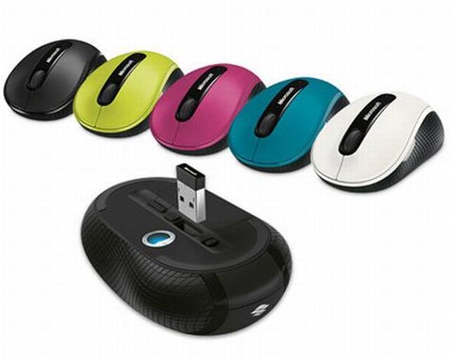 Microsoft Wireless Mobile Mouse 4000 - uniwersalna i precyzyjna myszka komputerowa