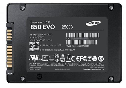 prezent na święta dla chłopaka - samsung 850 evo 250 GB
