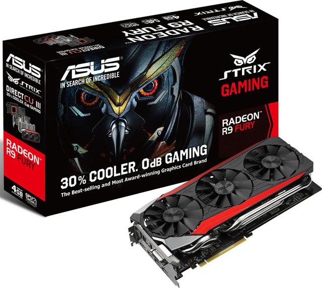 ASUS AMD RADEON R9 FURY STRIX