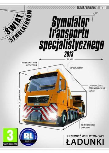 Symulator Transportu Specjalistycznego