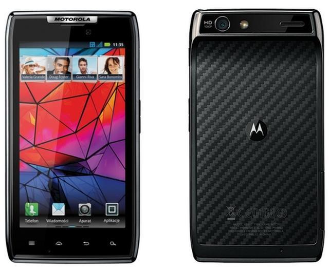 Motorola RAZR -  nowoczesny smartfon o świetnym wykonaniu
