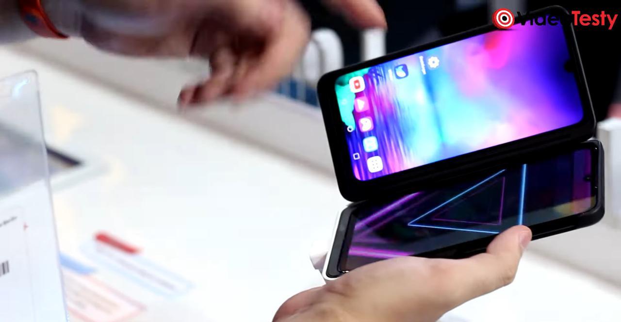 LG G8X obsłuży dodatkowy ekran, co wiąże się z większą wagą