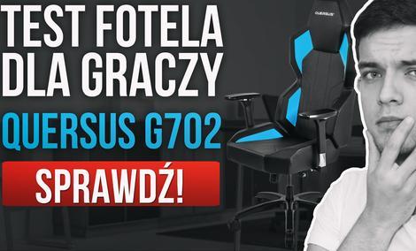 Fotel Quersus G702 - Ciekawe i Kanciaste Nie Tylko Dla Graczy!