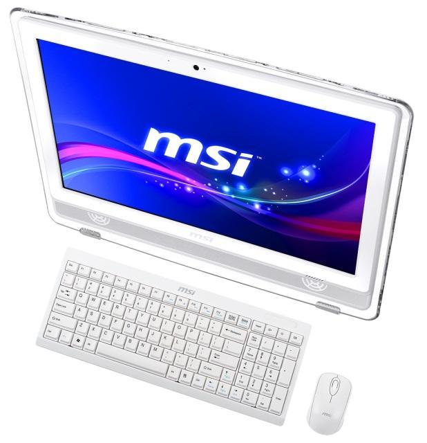MSI prezentuje dwa nowe komputery typu All-in-One z technlogoią Flicker-Free