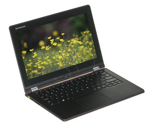 """Lenovo Yoga 2 Notebook N3530 4GB 11,6"""" MT HD 500GB INTHD W8.1 Orange 59-433660"""