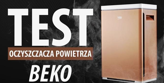 Test Beko ATP8100 - Prostego oczyszczacza powietrza