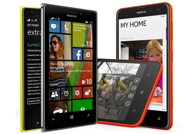 Smartfony Nokia Lumia z Aktualizacją Systemu