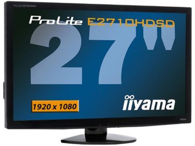 Iiyama ProLite E2710HDSD – prawdziwy Mister Big