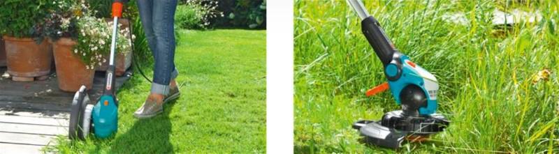 Gardena 09811-20 kosząca brzegi trawnika i wysoką trawę