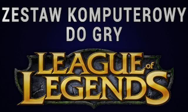 Zestaw Komputerowy Do Gry League Of Legends