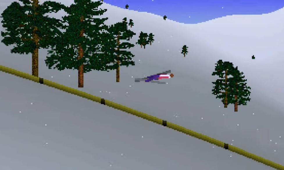 Deluxe Ski Jump 2 – Kultowa gra za darmo na Androidzie