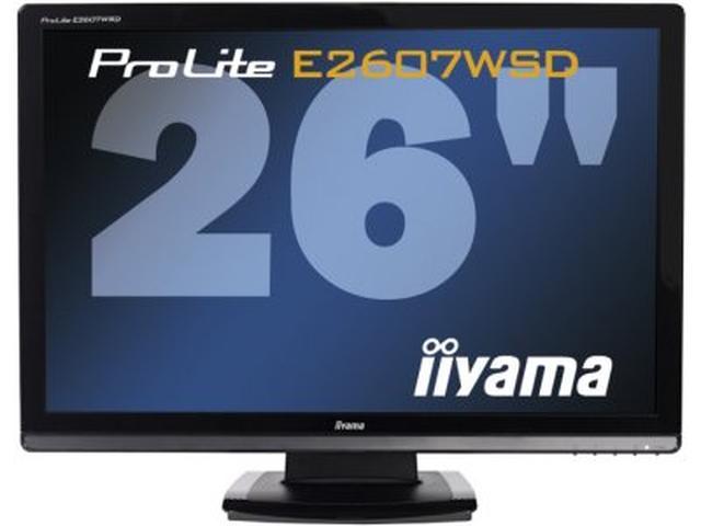 Iiyama ProLite E2607WSD – 26 cali dla wymagających