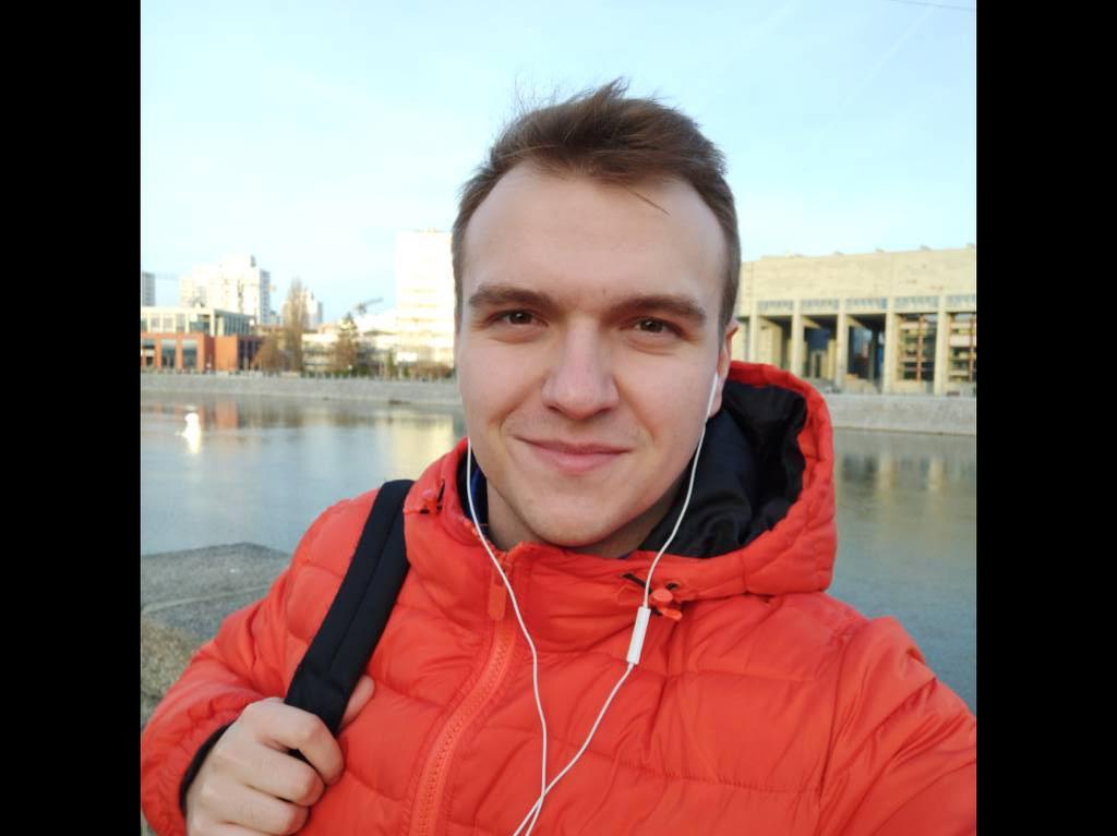 Selfie wykonane w trybie automatycznym