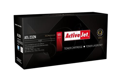 ActiveJet ATL-232N toner Black do drukarki Lexmark (zamiennik Lexmark 24016SE) Supreme