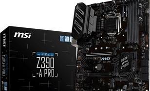 MSI Z390-A PRO s1151 4DDR4 DP/DVI/VGA/M.2/