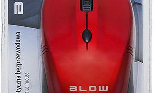 Blow bezprzewodowa optyczna MB-10 1600dpi czerwony