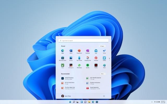 Menu Start Windowsa 11 przesunie się ku środkowi