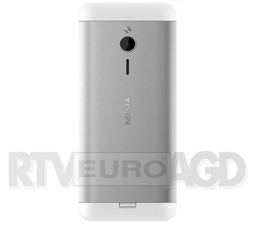 Nokia 230 Dual Sim (srebrny)