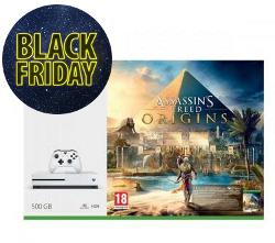 Konsola  MICROSOFT XBOX ONE S 500GB  Assassin's Creed: Origins  6M Live Gold