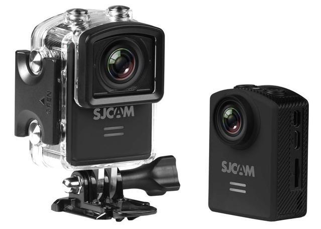czarna kamera sportowa Sjcam M20