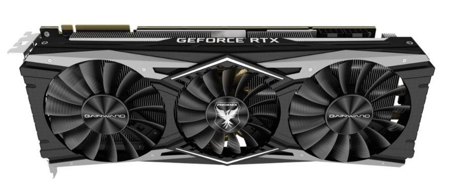 Gainward RTX 2080 Ti Phoenix Golden Sample - wentylatory
