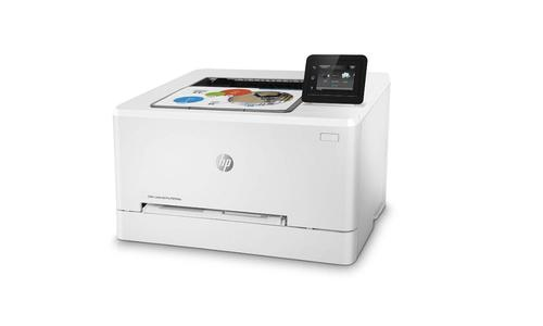 HP COLOR LASERJET PRO M254DW na białym tle
