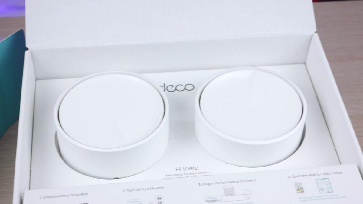 TP-Link Deco X20 w pudełku