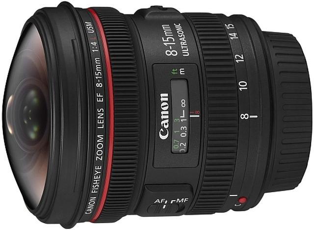 Canon EF 8-15mm - obiektyw FishEye