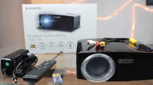 Hykker Vision 180 - projektor z Biedronki