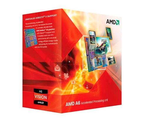 AMD APU X4 A6-3650 2.6GHz BOX (FM1) (100W)