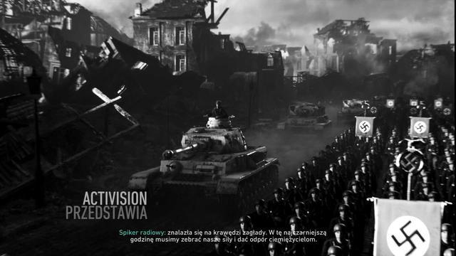 Call of Duty: WWII - Początek kampanii