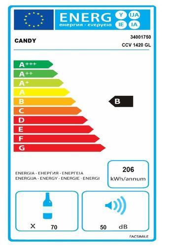 Candy CCV 1420 GL chłodziarka do wina