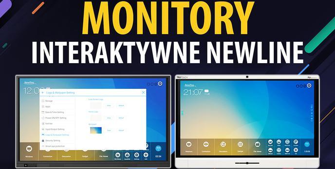 Newline, czyli monitory interaktywne nowej generacji