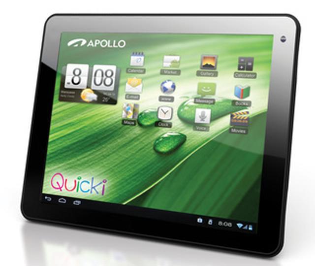 Nowoczesna rodzina tabletów Quicki -Model Quicki 1034